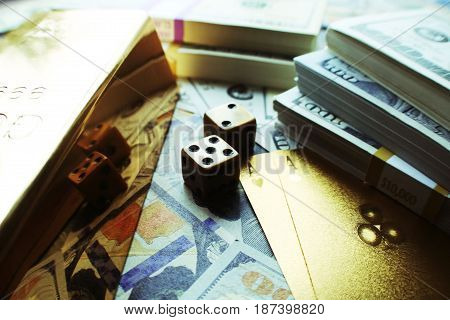 Money Game Close Up High Quality Stock Photo