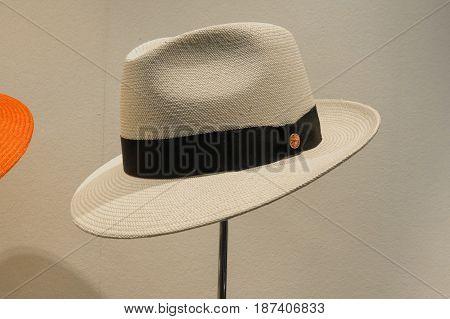 Panama Hat On Display