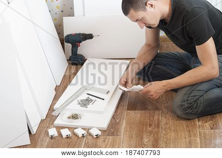 Assembling Of Furniture At Home