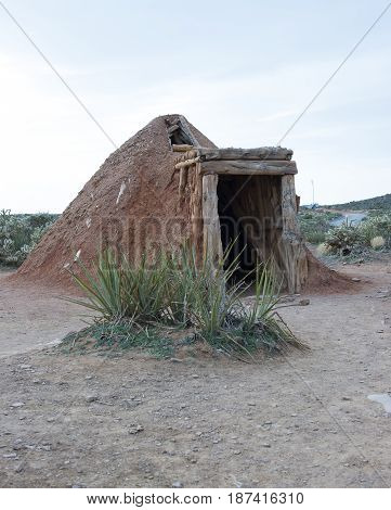 Navajo Sweat Lodge To Clean The Mind And Spirit
