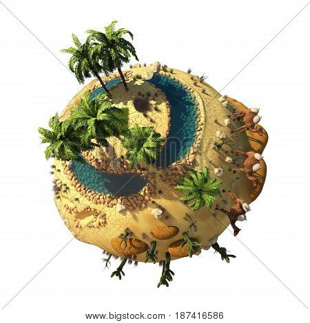 3D Planet Dune ( version 04 )