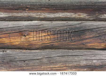 Old brown wooden boards as a background
