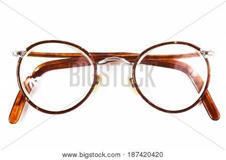 Old Retro Reading Glasses