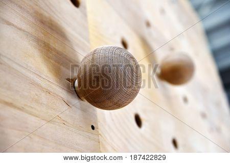 Wooden Climbing Fingerboard