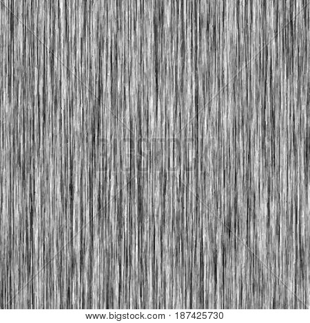 Black and white background of vertical fibers. Vector illustration