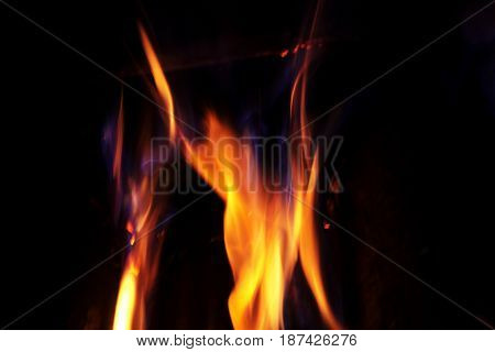 Fire. Background. Element. The concept of nature.