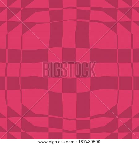 Seamless Abstract Pattern In Maroon And Red Tones