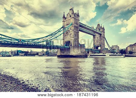 The Tower Bridge London United Kingdom, UK