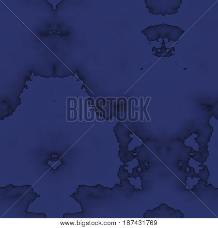 Seamless Abstract Pattern In Blue And Black Tones