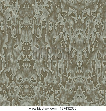 Seamless Abstract Pattern In Khaki And Beige Tones