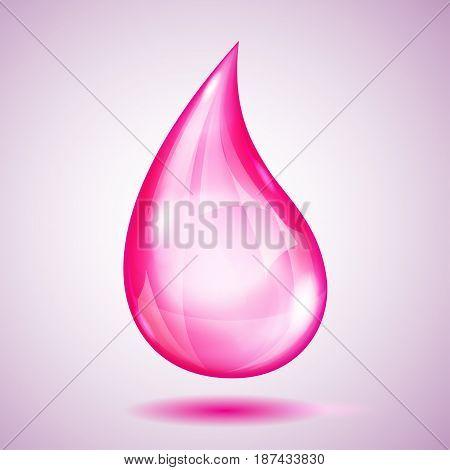 One Big Pink Drop