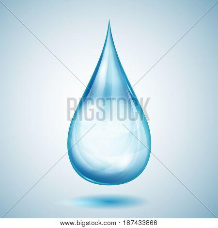 One Big Blue Drop