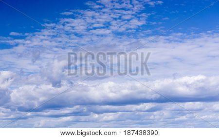 Cloud Overhead Sunny Summer