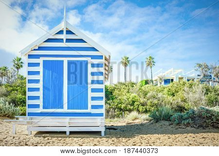A Bathing Box at Brighton Beach, Australia