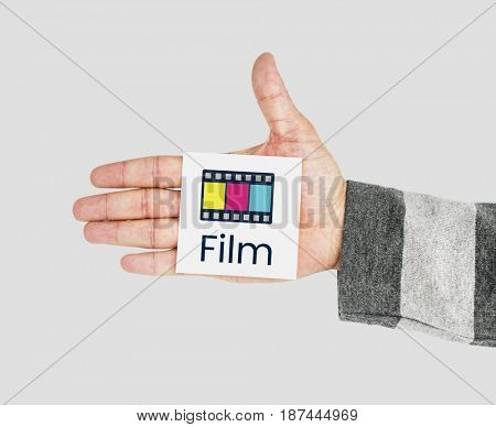 Movie Cinema Film Digital Media Word Graphic