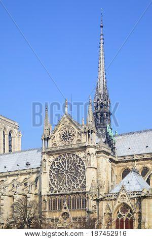 Gothic broach of Notre Dame de Paris
