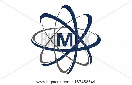 This image describe about Atom Initial M