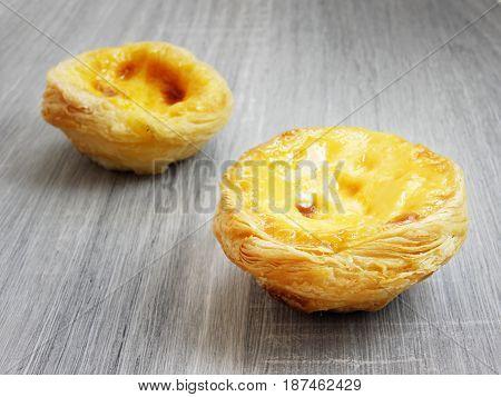 Egg Custard Tart Crisps Dessert