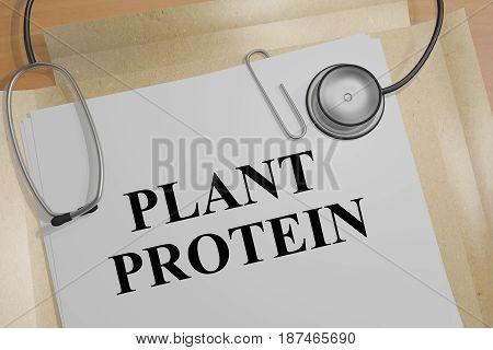 Plant Protein - Health Concept