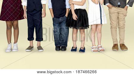 Little Kids Dressing Modern Trendy