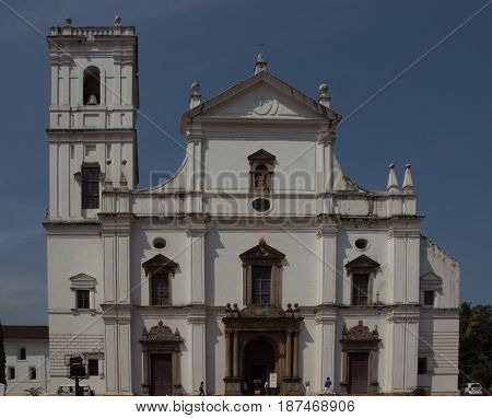 Church Of St. Francis Of Assisi, Old Goa, India