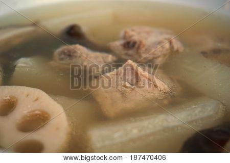 lotus root is the favorite ingredient food in asian