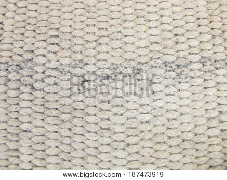 Woven background pattern in gray color wool