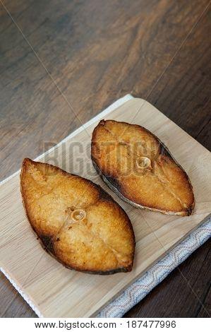 Scomberomorus Fried
