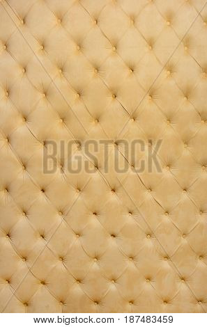 Textile background light yellow color