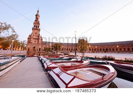 Spain Square, Sevilla - Spain.