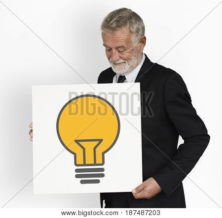 Light Bulb Ideas Creative Icon Graphic