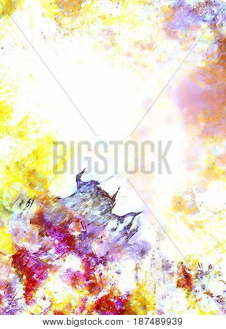 Abstract background and color effect, color background