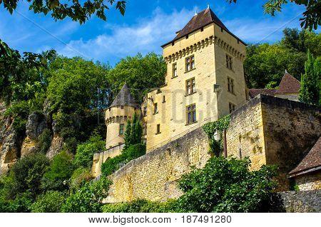 Little castle hidden in Nature, Dordogne, France