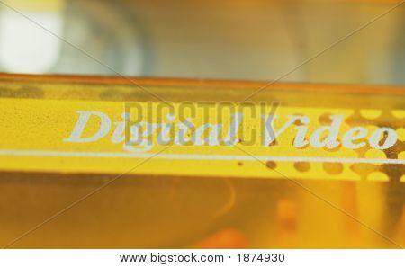 Digital Video Cassette Label
