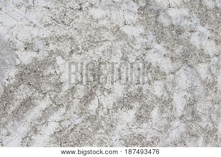 Grunge background with old stucco wall texture of gray color