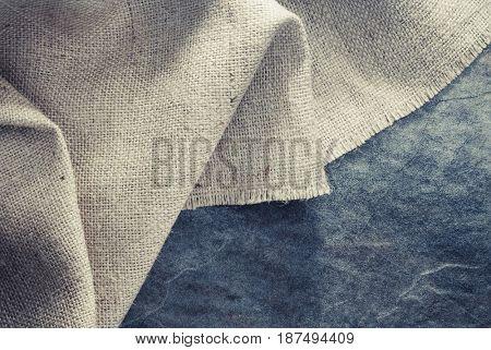 burlap hessian sacking at background texture
