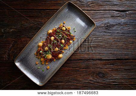 Jacks beef with corn USA meat recipe