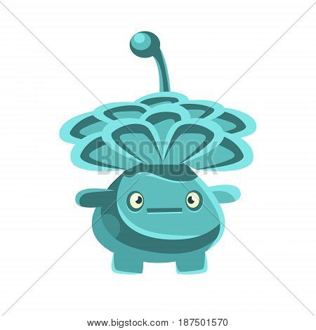 Nice friendly cactus emoji. Cartoon emotions character vector Illustration isolated on a white background