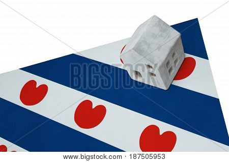 Small House On A Flag - Friesland