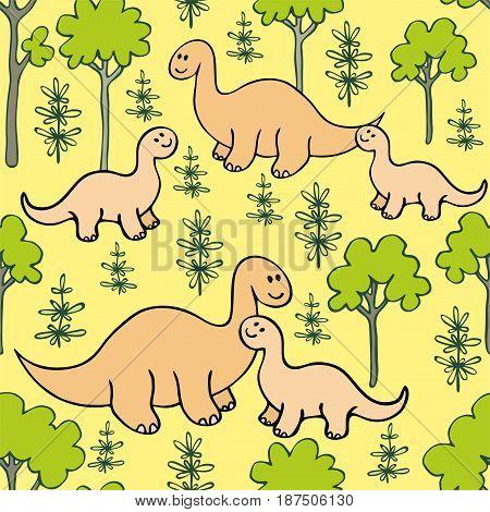 Dino Seamless Pattern.eps