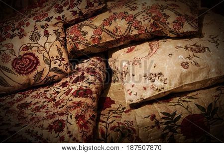 Empty Old Bed