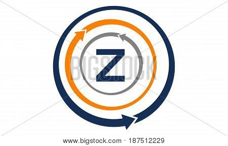 This image describe about Online Marketing Business Distribution Initial Z