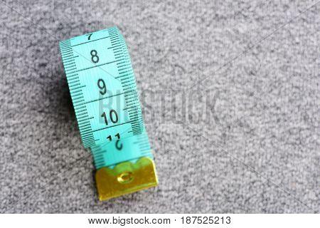 Measure Line Tape Roll In Light Blue