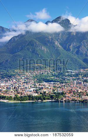 Como Lake And Alps