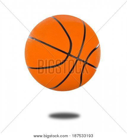 Basketball ball isolated on a white background