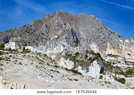 Mountain And Marble Quarries