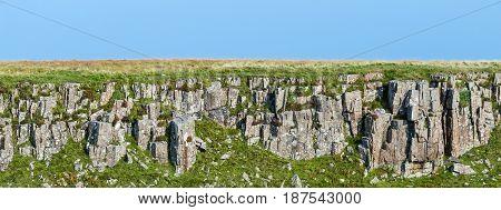 Layer Of Igneous Rocks In The Isle Of Skye, Scotland