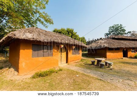 Architecture Of Santichon Chinese Village