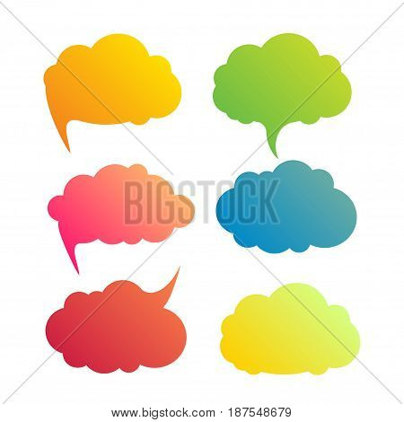 Vector infographic design element illustration clouds, business infographic