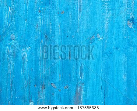 Wooden background painted in light sky blue colour.